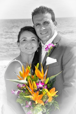 Beach Ceremony Bride & Groom - Wedding Ceremony in Fort Lauderdale, FL