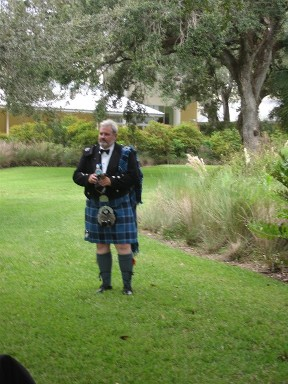 Bag Piper - Wedding Ceremony in Fort Lauderdale, FL